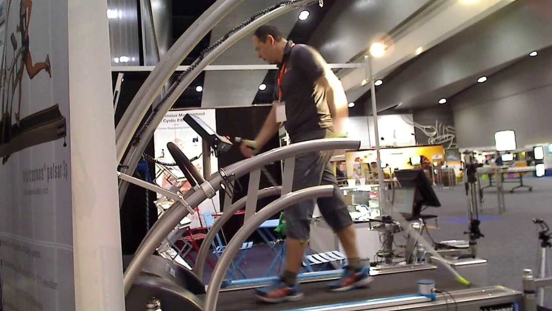 Treadmills for physiotherapies